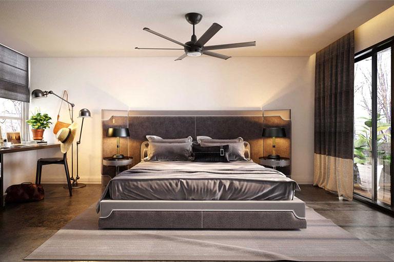 Black es6 in bedroom
