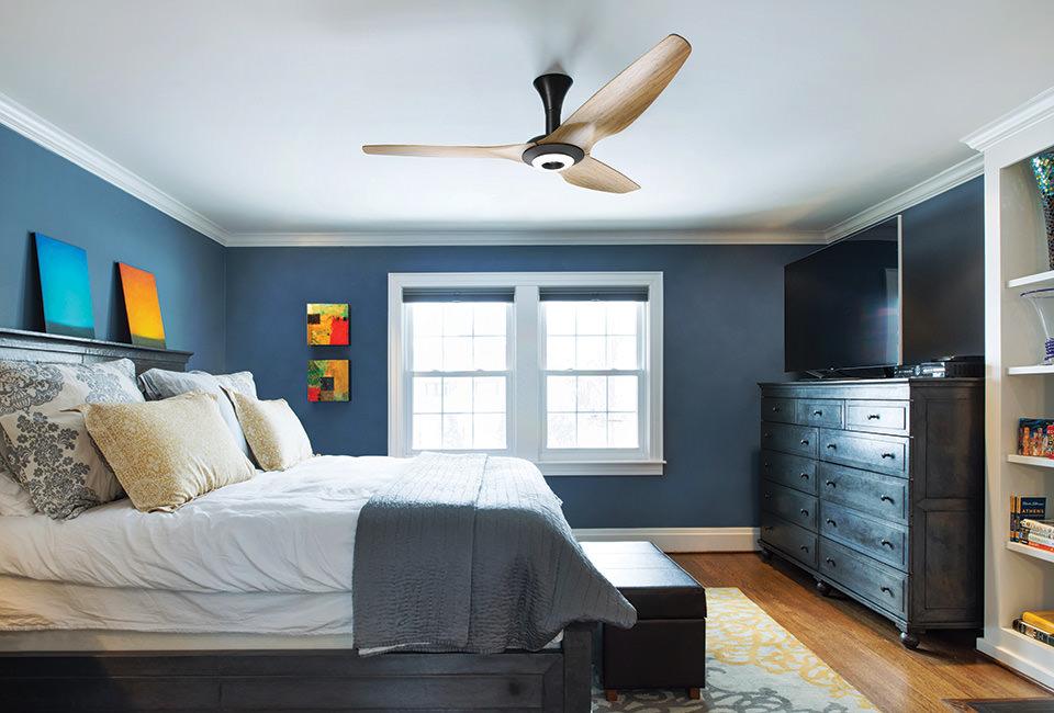 Haiku ceiling fan with led kit