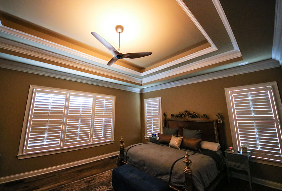 Haiku ceiling fan with uplight